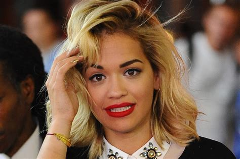 Rita Ora's Hair Is A Total Throwback (photos