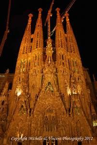 Sagrada Familia at Night « Michelle & Vincent Photography
