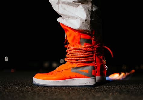 nike sf af high total orange aa  sneakernewscom