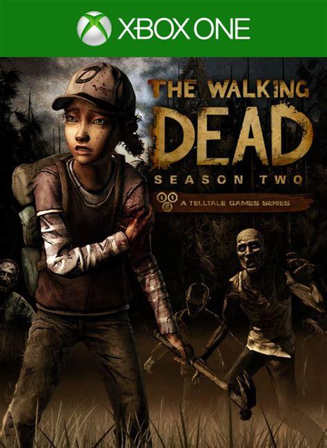 The Walking Dead Season Two 2014 Xbox One Box Cover Art