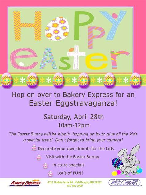 easter eggstravaganza ideas bakery express