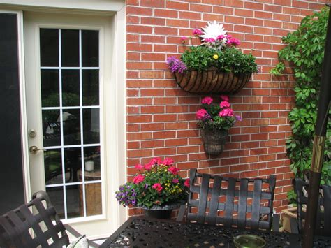 outdoor walls ideas patio wall decor roselawnlutheran