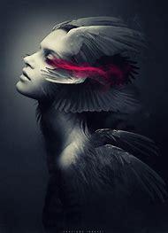 Dark Surreal Art Fallen Angels