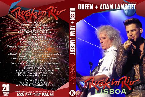 Live Rock In Rio Lisbon 2016 Dvd