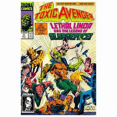 Comics Toxic Comic Avenger Digital Troma Crusaders