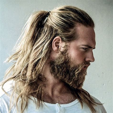 The Man Ponytail   Ponytail Styles For Men   Men's