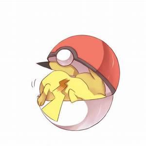pikachu pokemon cute pokeball makaseenee •