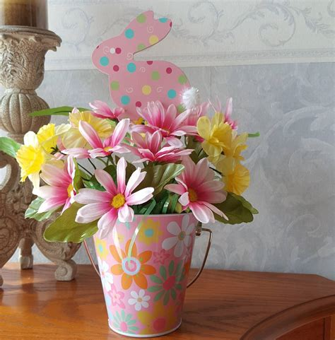 easter bunny decor ideas   colorful easter