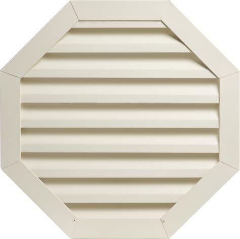 decorative gable vents products custom octagon louvers 032 aluminum 032 aluminum