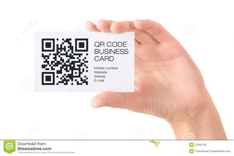 Qr Code Business Card In Hand Isolated Editorial Image Business Card Perspective Photoshop Background Images Free Download Template Illustrator With Bleed Do You Have A In French Word 2013 Photographer Two Job Titles Instagram