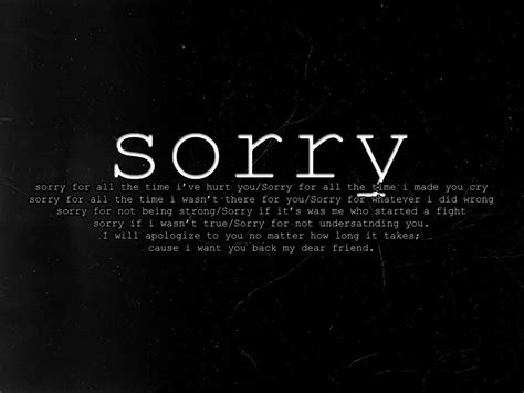 Sorry My Mistake Quotes