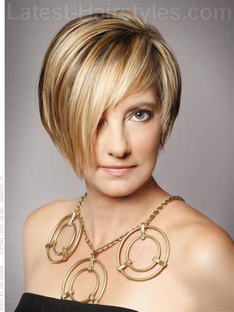asymmetrical haircuts  thin hair short hairstyle hairstyles ideas