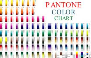 Printable Pantone Color Chart