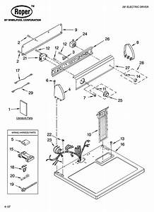 Roper Wiring Diagram Dryer