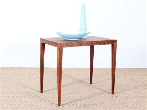 tables d appoint pliantes scandinavian occasional table in rosewood galerie m 248 bler