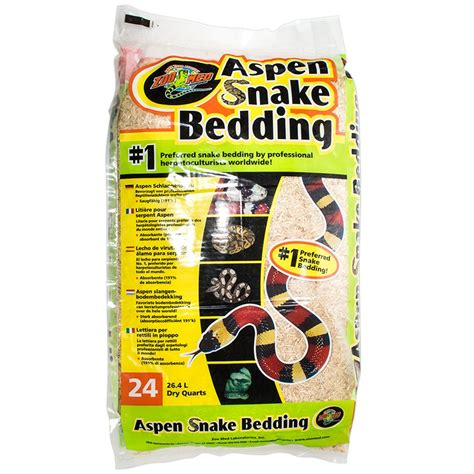 Aspen Bedding For Snakes by Zoo Med Zoo Med Aspen Snake Bedding Reptile Specialized