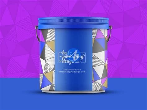 Plastic bucket with sauce mockup. 20+ Best Bucket Mockup PSD Templates 2019 - Templatefor