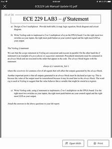 Solved  Ipad U4ee4 9 59 Am Ece229 Lab Manual Update V2 Pdf 25