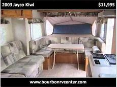 2003 Jayco Kiwi Used Cars Bourbon MO YouTube