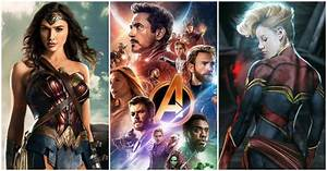 10, Most, Anticipated, Superhero, Movies, Coming, In, 2019