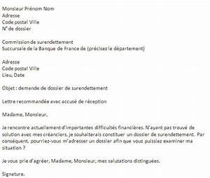 Demande De Pret Caf : deposer un dossier de surendettement tapes et conditions ~ Gottalentnigeria.com Avis de Voitures