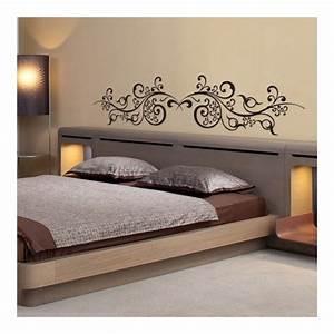 Photo Tete De Lit : stickers t te de lit arabesques orientales d coration pour chambre ~ Dallasstarsshop.com Idées de Décoration