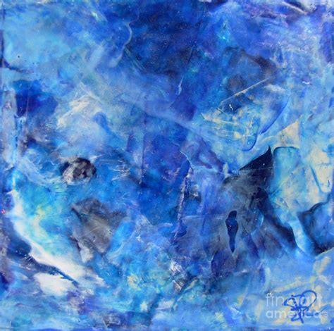 modern blue painting blue abstract square painting blue shades modern wall by chakramoon painting by belinda capol