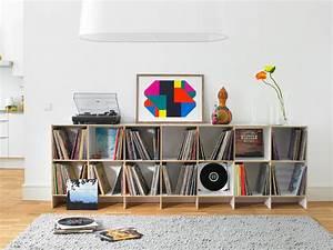 Regal Für Schallplatten : schallplattenregale regalsystem sideboard f r ein erweiterbares konzept zur ~ Orissabook.com Haus und Dekorationen