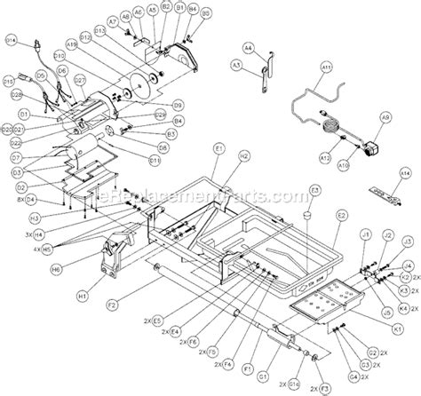 Mk 660 Tile Saw Wiring Diagram mk tile saw parts pictures to pin on pinsdaddy