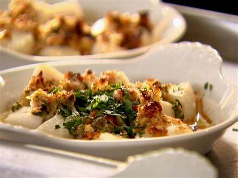 bay scallops recipe bay scallop gratin from ina garten keeprecipes your universal recipe box