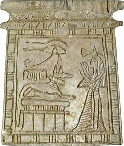 File:Egyptian - Pectoral with Female Worshiper and Anubis ...