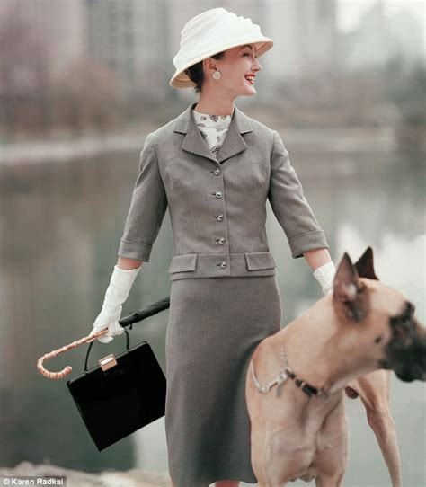 dogs  vogue   book celebrates  years  canine chic daily mail