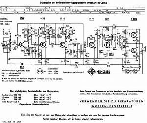 Ingelen Tr Corso Transistor Radio Ca1959 Sch Service
