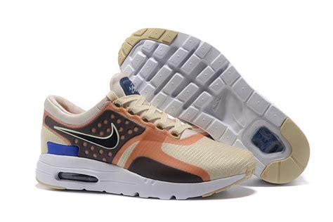 nike airmax zero white blue nike air max zero qs shoes for beige black