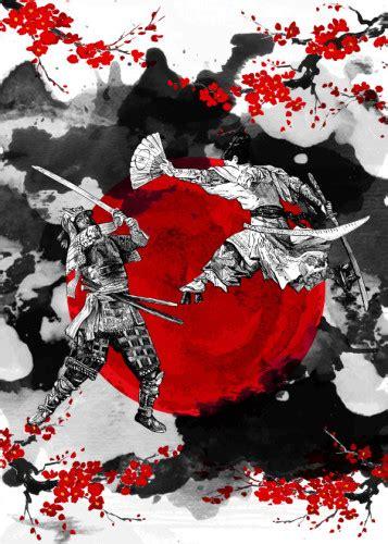 samurai fighting  cornel vlad displate