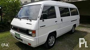 Mitsubishi L300 Versa Van Manual Diesel 4d56 Engine 1999