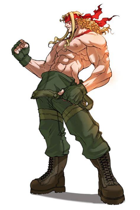 Alex artwork #3, Street Fighter 3