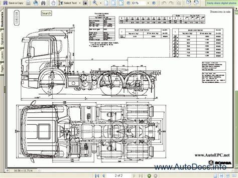 scania workshop bodywork 4 series repair manual order