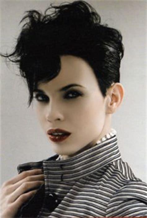 short black hairstyle kinda gothic   hair