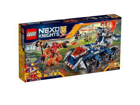 nexo knights minifigures posted  lego site