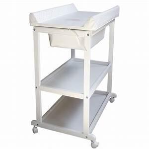 Dimension Table à Langer : table langer white 10 sur allob b ~ Teatrodelosmanantiales.com Idées de Décoration