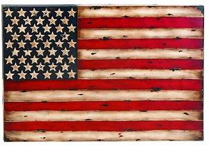metal wall decor with american flag replica modern With kitchen cabinets lowes with vintage american flag wall art