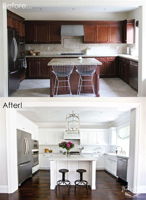 before and after white kitchen cabinets our kitchen before after studio mcgee 9091