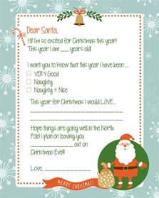 free letter to santa print