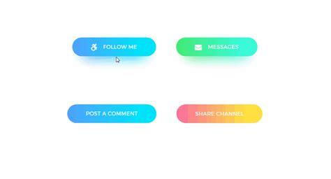 fancy gradient background button