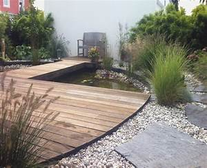 Kies Im Garten : holz und kies im garten ~ Lizthompson.info Haus und Dekorationen