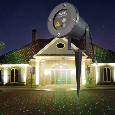 christmas light show projector outdoor holiday decoration light display projector reviews