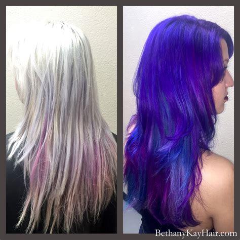 fun  funky fashion hair color