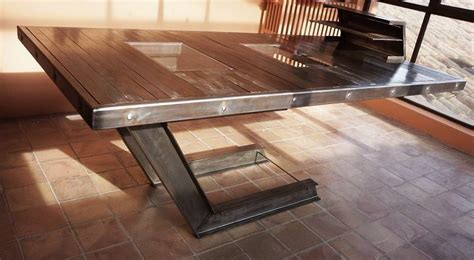 bureau verre et acier création d 39 une table bureau en acier et verre à aix en
