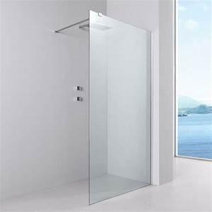 Paroi De Douche 160 : paroi de douche fixe verre 8 mm 80 cm ~ Edinachiropracticcenter.com Idées de Décoration